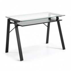 Secretaria Metal + Vidro 120x62 L806 - Eletronet
