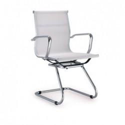 Cadeira de escritorio, rede branca,SD846 - Eletronet
