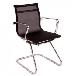 Cadeira de escritorio, rede preto,SD847 - Eletronet