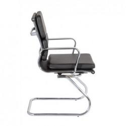 Cadeira Cromada Pele Sintetica SD1362 - Eletronet