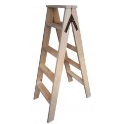 Escadote madeira JS15 - Eletronet