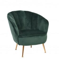 Sofa 1 Lug. Veludo Verde IT891 - Eletronet