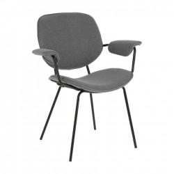 Cadeira Metálica, Tecido L1470 - Eletronet