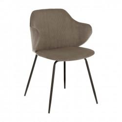 Cadeira Metal + Tecido L1528 - Eletronet