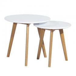 Conjunto 2 mesas apoio SD1904 - Eletronet