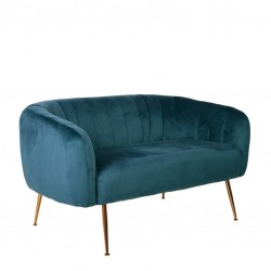 Sofa 2 Lug. Veludo Verde IT909 - Eletronet