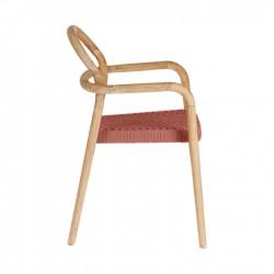 Cadeira Madeira, Corda L1589 - Eletronet